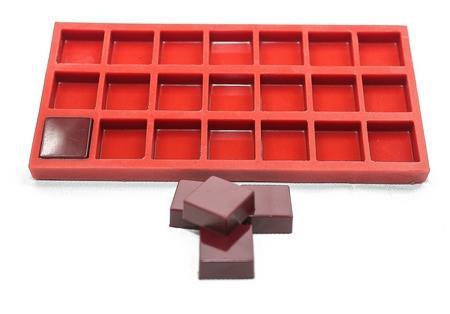 moule silicone chocolat carré