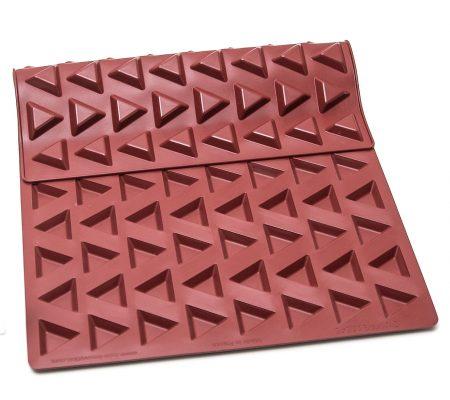 moule silicone triangle