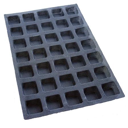 moule fibre de verre carré