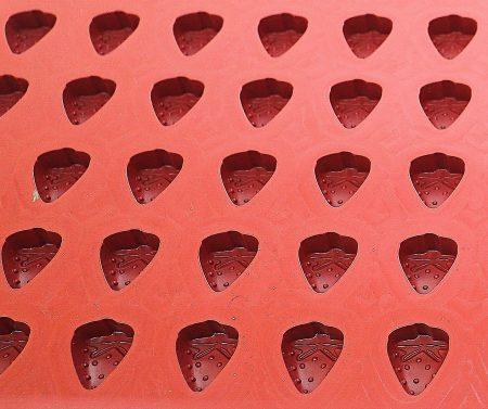 moule fraise silicone