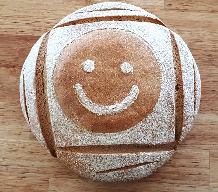 pain marqué