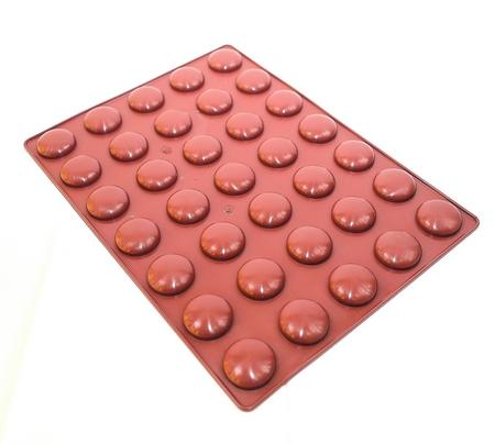 moule silicone galet nid d'abeille