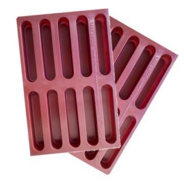 PACK OF 2 – FINGER MADELEINE 20 cells (2×10)- 36 ml