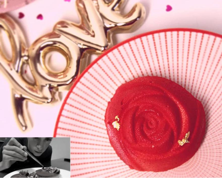 rose saint valentin